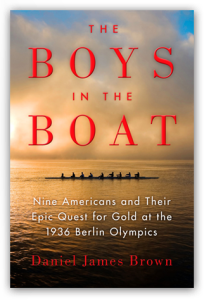 Author Daniel James Brown's book, The Boys in the Boat